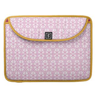 Hexagon-geometrisches Muster-sechseckiges Sleeve Für MacBooks