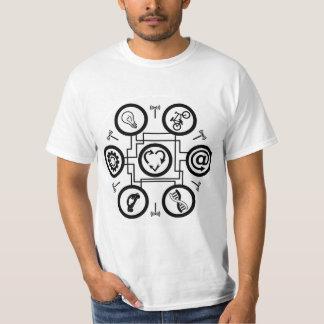Hexagon - Internet of things T-Shirt