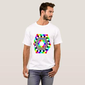 Hexagon-Krapfen T-Shirt
