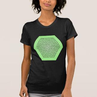 Hexagon-Labyrinth T-Shirt