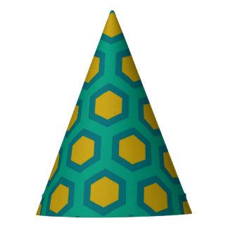 Hexagon Partyhütchen