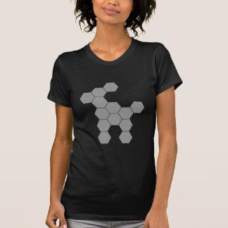 Hexagon-Zukunft-Hund T-Shirt
