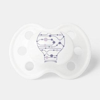 Hexahedrons innerhalb der Ideen-Birne Schnuller