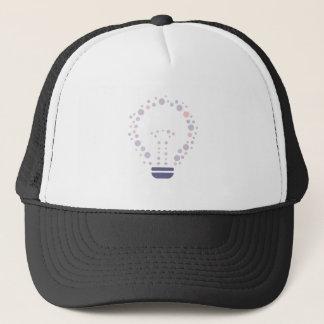 Hexahedrons innerhalb der Ideen-Birne Truckerkappe
