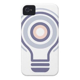 Hexahedrons innerhalb Ideen-Birnen-der abstrakten Case-Mate iPhone 4 Hüllen