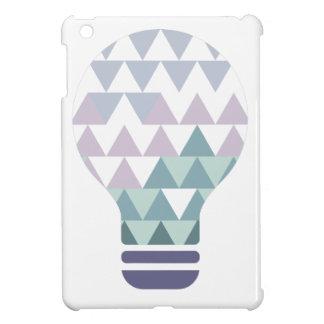 Hexahedrons innerhalb Ideen-Birnen-der abstrakten iPad Mini Hülle
