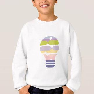 Hexahedrons innerhalb Ideen-Birnen-der abstrakten Sweatshirt