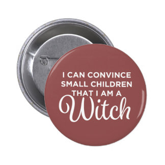 Hexe - April Ludgate Runder Button 5,7 Cm