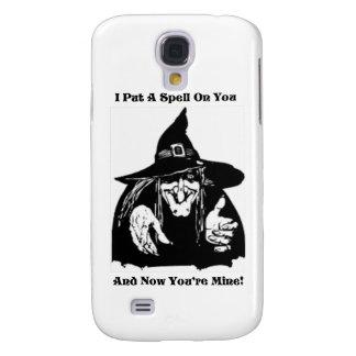 Hexe, die einen Bann auf Sie setzt Galaxy S4 Hülle