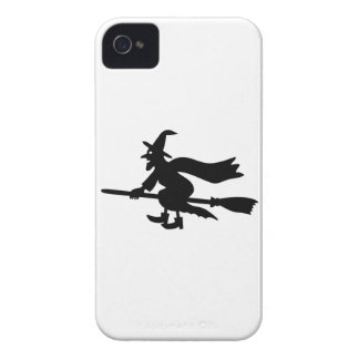 Hexe die mit dem Besen fliegt Case-Mate iPhone 4 Hülle