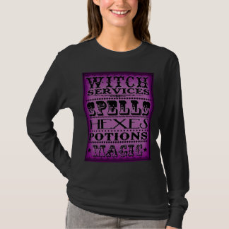 Hexe-Dienstleistungen T-Shirt