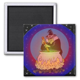 Hexe-Gebräu für Sie Quadratischer Magnet