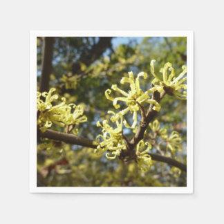 Hexe-Haselnuss-Blumen Serviette