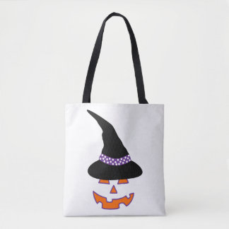 Hexe-Kürbis-Schönheits-Taschen-Tasche Tasche