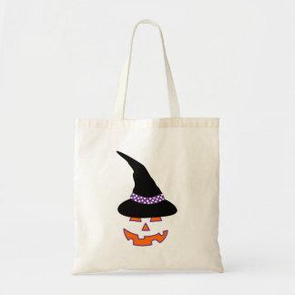 Hexe-Kürbis-Schönheits-Taschen-Tasche Tragetasche