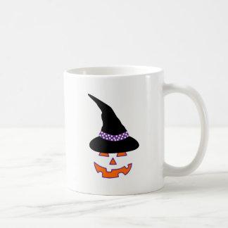 Hexe-Kürbis-Schönheits-Tasse Kaffeetasse