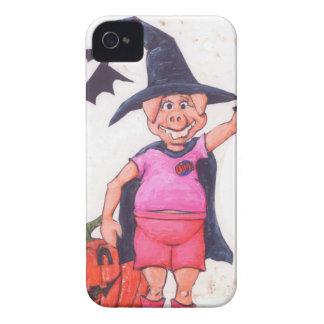 Hexe-Schwein iPhone 4 Case-Mate Hülle