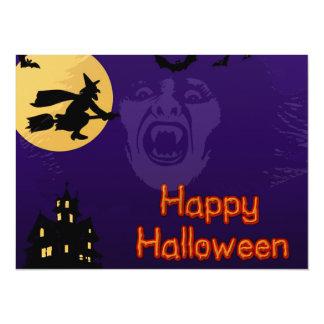 Hexe, Vampire und Spuk Haus-Party Einladungen