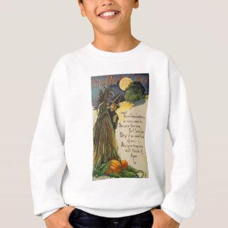 Hexe (Vintage Halloween-Karte) Sweatshirt
