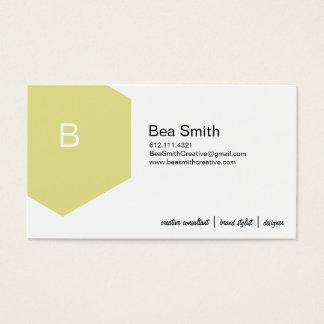 HexeConfetti - Zitrone Visitenkarte