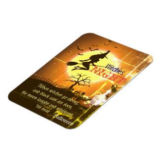 Hexen Nacht, Halloween Magnet