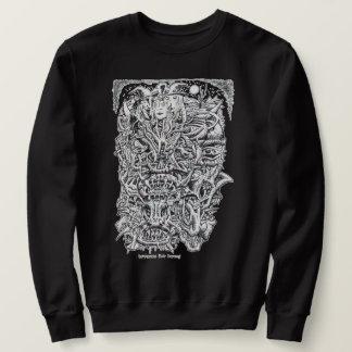 Hexen und Teufel, durch Brian Benson. Sweatshirt