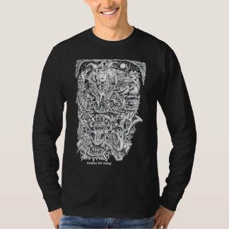 Hexen und Teufel, durch Brian Benson. T-Shirt