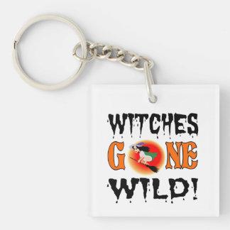 Hexen wild gegangen schlüsselanhänger