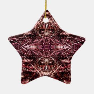 hexenkult 1 keramik Stern-Ornament