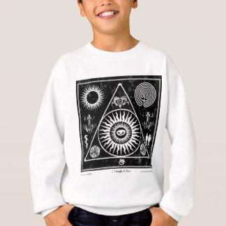 Hexerei: Ein Dreieck der Kunst #3 Sweatshirt