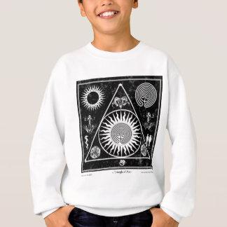 Hexerei: Ein Dreieck der Kunst #4 Sweatshirt