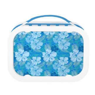 Hibiskus-Blau-Blumen Brotdose