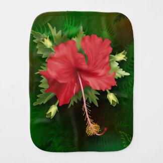 Hibiskus-Blume Baby Spucktuch
