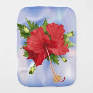 Hibiskus-Blume Spucktuch
