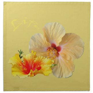 ☼ HIBISKUS, Blume von Leidenschaft ☼ Serviette