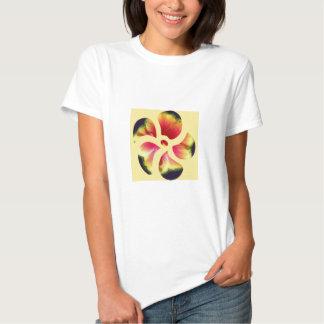 Hibiskus-Blumen-Blumenblätter Tshirts
