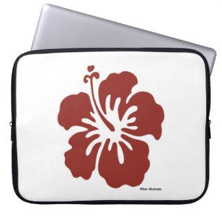 Hibiskus-Blumen-Computer-Laptop-Hülse Laptop Sleeve