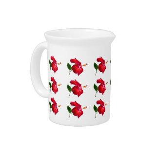 Hibiskus-Blüte Krug