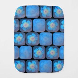 Hibiskus im blauen Gel Spucktuch
