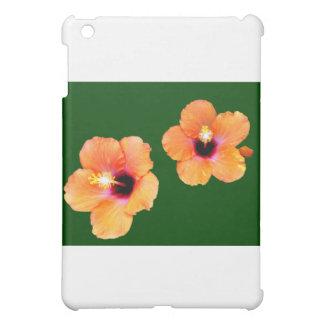 Hibiskus-orange Grün BG die MUSEUM Zazzle Geschenk iPad Mini Schale