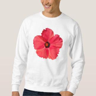 Hibiskus - personalisierte tropische heißes sweatshirt