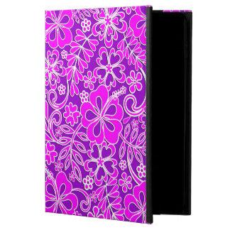 Hibiskus-rosa und lila Muster
