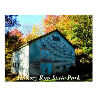 Hickory-LaufStaats-Park Postkarte