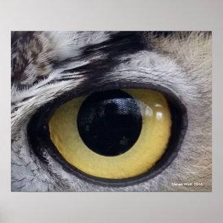 """""""Hier betrachtet Sie"""", die Kunst von Steven-Wolf Poster"""
