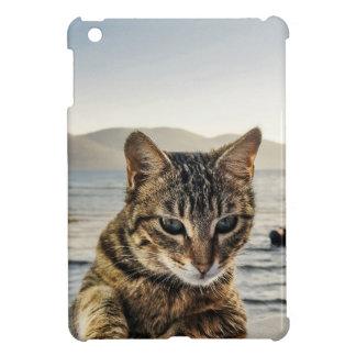 """""""Hier bin ich"""" sage die Katze iPad Mini Hülle"""