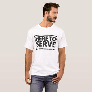 Hier dienen T-Shirt