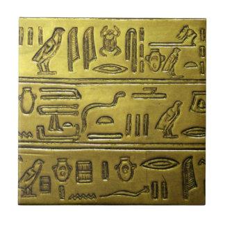Hieroglyphen 2014-1021 keramikfliese