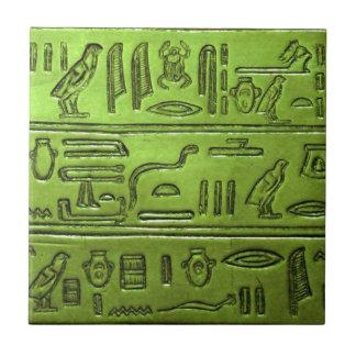 Hieroglyphen 2014-1022 keramikfliese