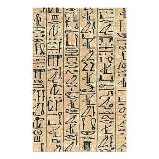 Hieroglyphen Hieroglifos Individuelles Druckpapier