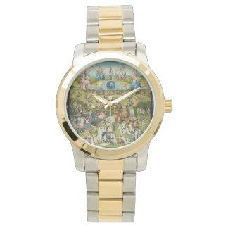 Hieronymus Bosch feine Kunst-Vintage Surreal Uhr